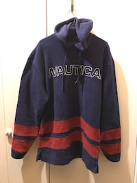 Nautica hoodie fleece pullover*looks new Mens M/M others on EBAY + $45 Chester Springs, 19425