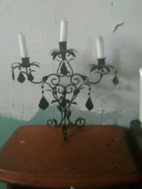 black metal candle holder Springfield