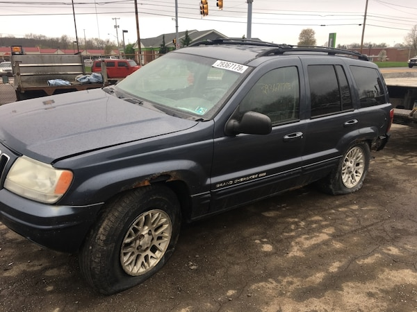 Parting out 2002 Jeep Grand Cherokee Limited 4x4 239cb85f-30ca-4e70-bb30-c75d36ece8b9