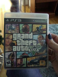 Sony PS3 Grand Theft Auto Five case Bangor, 04401