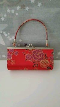 Red handbag Richmond
