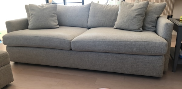 "Crate & Barrel 93"" Lounge Sofa/Couch"