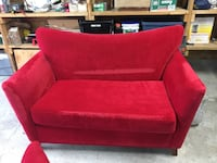 Red loveseat and sofa Coquitlam, V3J 3J6
