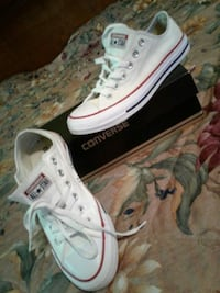 pair of white Converse All Star low-top sneakers Ontario, 91762