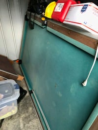 Slate pool table, needs some work but still useabl 64 km