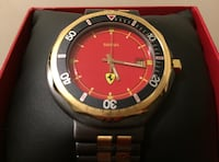 VINTAGE CARTIER FERRARI WATCH  MINT COND w/BOX 650.