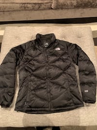 North Face 550 goose down quilted puffer coat! Women's Size XL.
