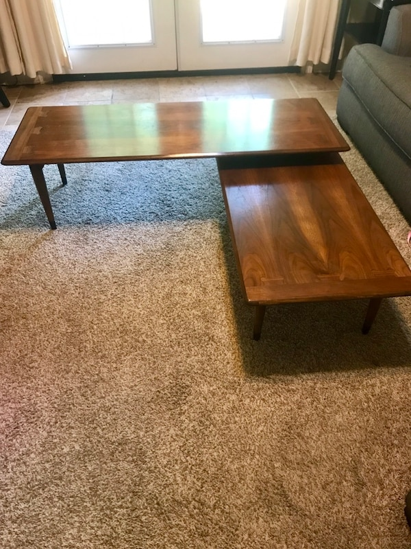 Modern Swivel Coffee Table.Vintage Mid Century Modern Swivel Coffee Table