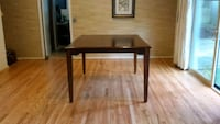 Oak Bar Height Dining Table - Like New Columbia, 21045