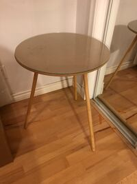 Accent tables with glass tops  Edmonton, T5J 1L1
