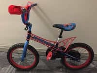 toddler's pink and blue bicycle 539 km