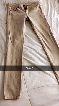 Brown and white floral pants Las Cruces, 88001