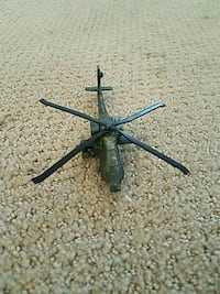 Toy attack helicopter