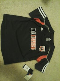DC United kid jersey. NEW with tags. MLS soccer Silver Spring, 20902