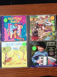 Children's music CDs New Fairfield, 06812