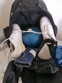 Bowling ball and bowling ball briefcase shoes  North Las Vegas, 89032