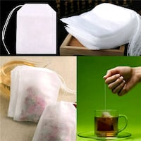 Tea Bags With String Heal Seal Filter Paper for H Toronto, M1G 2C7