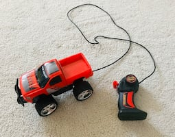 Remote Controlled Truck with batteries included.