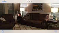 Leather Sofa & Chair Charleston, 29414