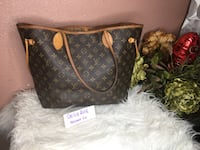 black and brown Louis Vuitton leather tote bag Houston, 77076