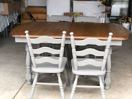 Dining table and ; chairs