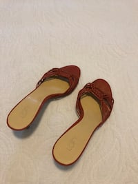 pair of brown leather sandals Rockville, 20852