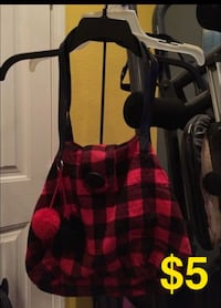 black and red plaid sleeveless top Eastvale, 92880