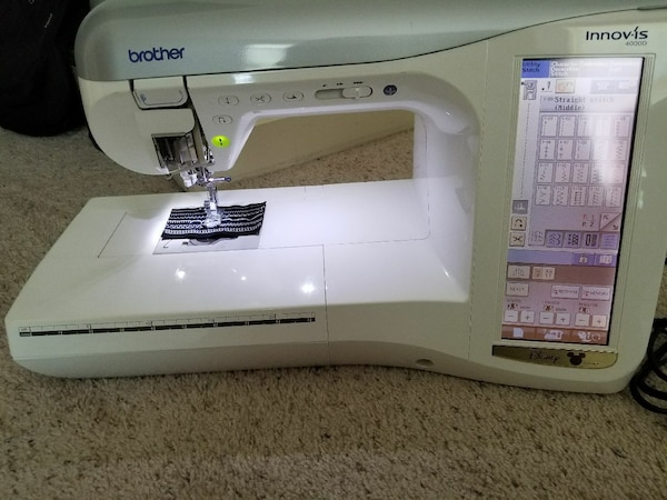 Used Brother Innovis 40D EmbroiderySewing Machine For Sale In Magnificent Brother 4000d Sewing Embroidery Machine