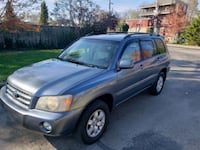 2001 Toyota Highlander Limited 4WD New Albany