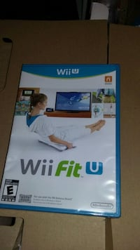 Wii u fit with game, board, tracker West Union, 45693