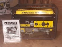 Champion 4000W generator bought at Tractor Supply Wynne, 72396