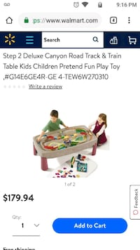 Used Kids activities table