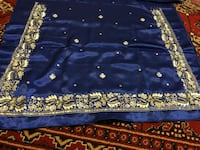 Blue shalwar clothes Unstitched