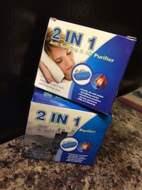 Anti Snoring Air purify Device ($7for Both)