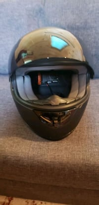 Bilt large black motorcycle helmet