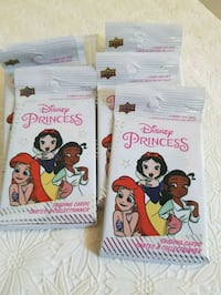 NEW, Disney Princess Pack of 5 cards Lot $0.50 ea London, N6C 4W2