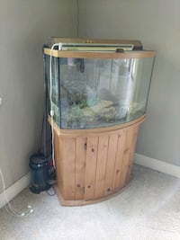 45 gal with stand and canister filter Milwaukie, 97222
