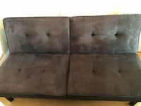 brown suede 3-seat sofa Washington, 20016