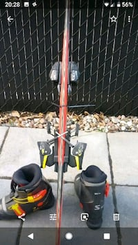 black and red golf bag trolley Laval, H7N 5X6