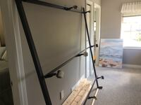 King size bed frame excellent condition  Surrey, V4A 7W6