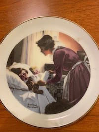Norman Rockwell and other collector plates selling for $5 each