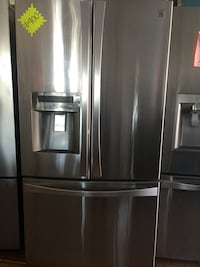 stainless steel french door refrigerator Seal Beach