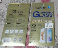 Pellicola vetrata tempered Glass per Iphone 4 e 4S Scafati, 84018