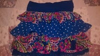 GIRLS SIZE 10-12 FLORAL SKIRT GREAT FOR SCHOOL! Wichita