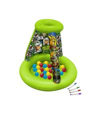 NEW IN BOX TMNT color and play playground