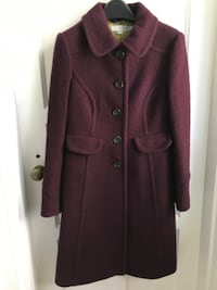 Boden 100% Wool Coat size 4 petite Baltimore