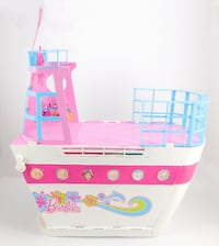 Barbie Sisters Cruise Ship Boat + 2 Dolls + Accessories MONTREAL
