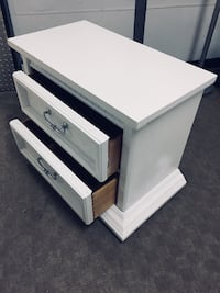 End table.    WHITE