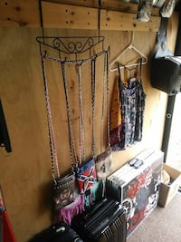 three eather sling bags