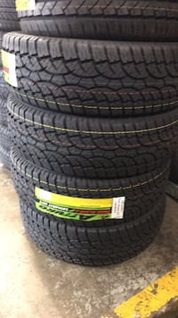 265/70R17 set of 4 tires